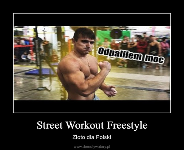 Street Workout Freestyle – Złoto dla Polski