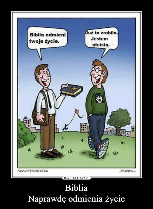 BibliaNaprawdę odmienia życie –