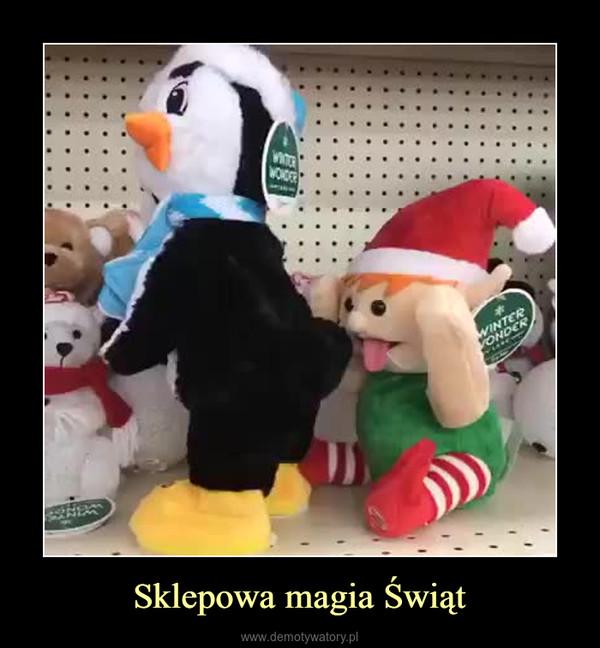 Sklepowa magia Świąt –