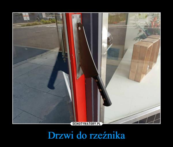 Drzwi do rzeźnika –