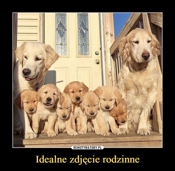 Idealne zdjęcie rodzinne –