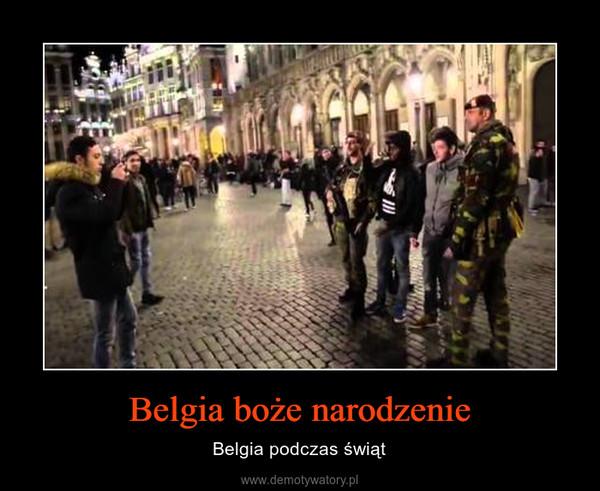 Belgia boże narodzenie – Belgia podczas świąt