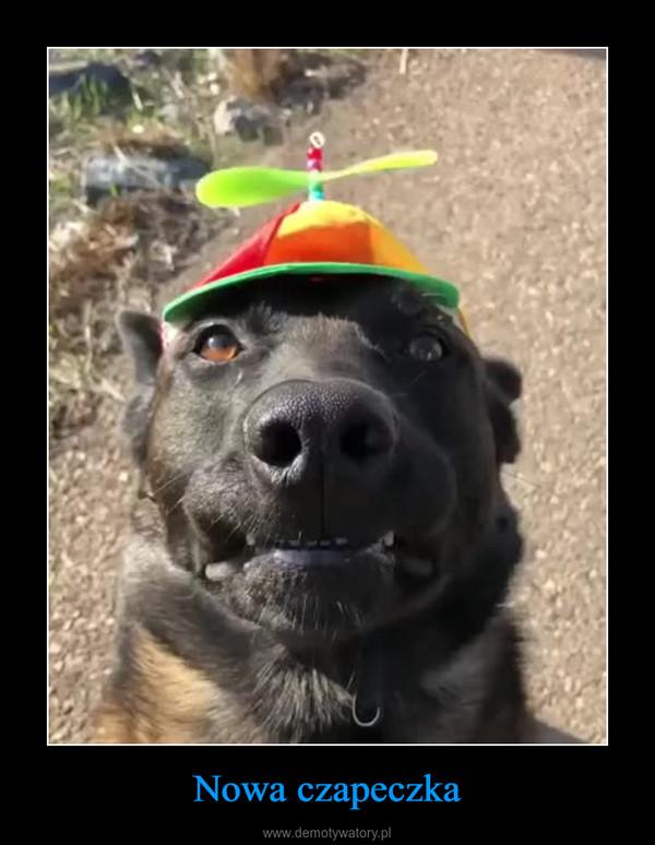 Nowa czapeczka –