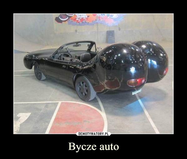 Bycze auto –