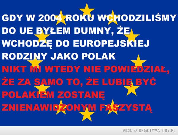 Refleksja Polaka-Europejczyka –