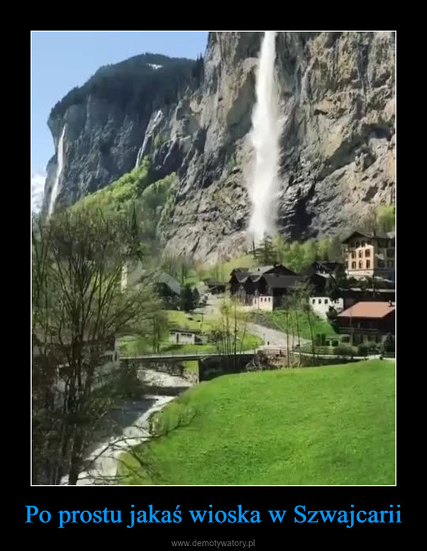 Po prostu jakaś wioska w Szwajcarii –
