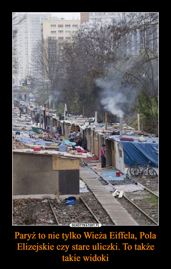 Paryż to nie tylko Wieża Eiffela, Pola Elizejskie czy stare uliczki. To także takie widoki –