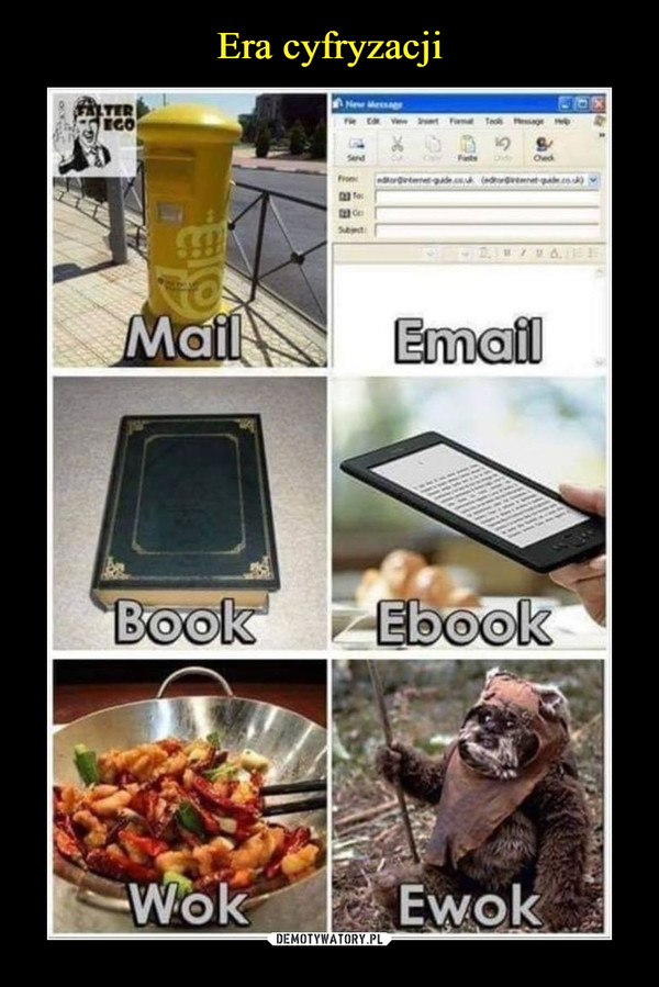 –  mail email book ebook wok ewok