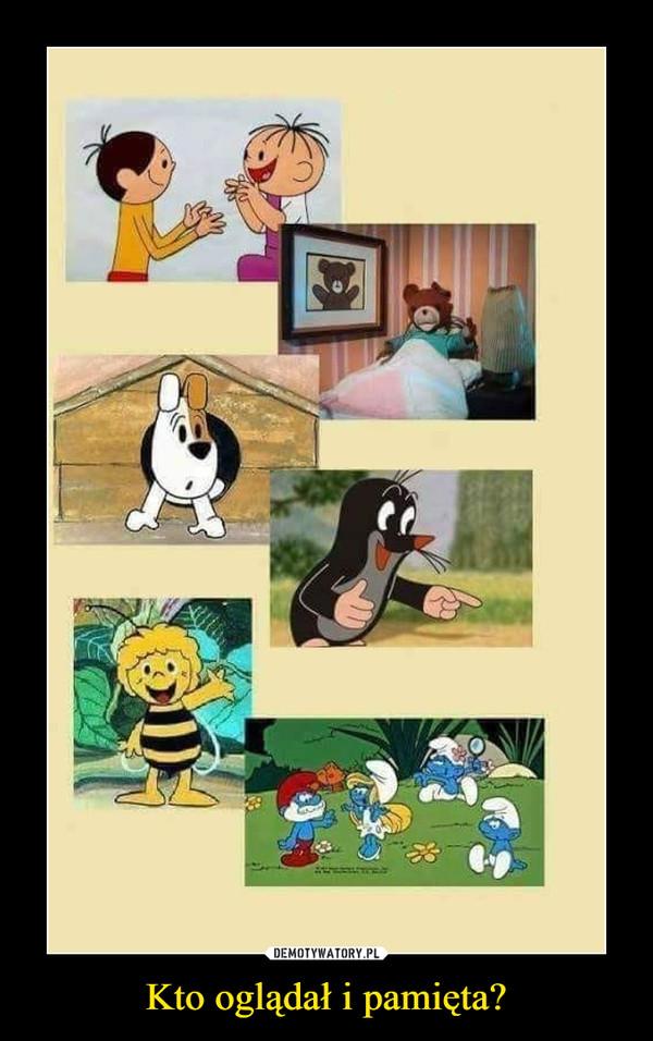 Kto oglądał i pamięta? –