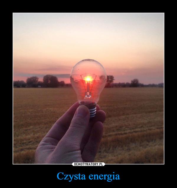 Czysta energia –