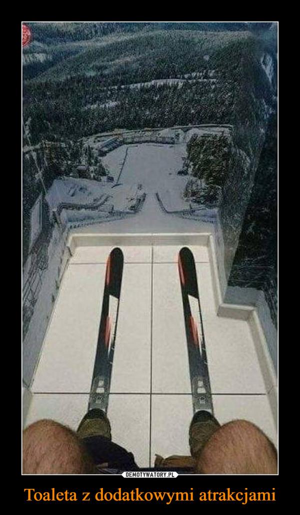 Toaleta z dodatkowymi atrakcjami –