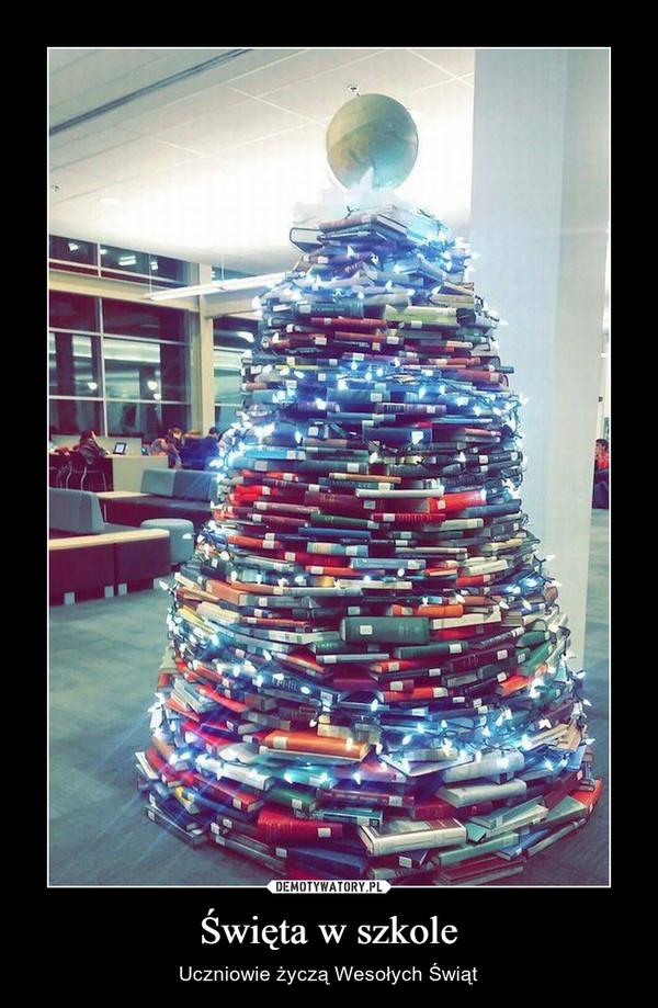 Święta w szkole – Uczniowie życzą Wesołych Świąt