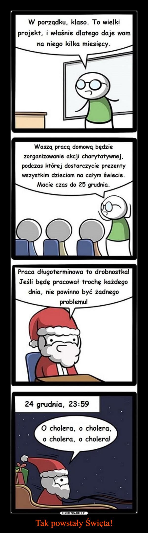 Tak powstały Święta! –