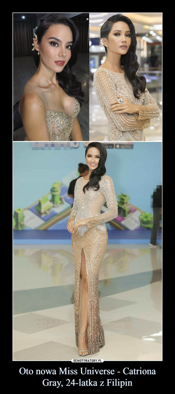 Oto nowa Miss Universe - Catriona Gray, 24-latka z Filipin –