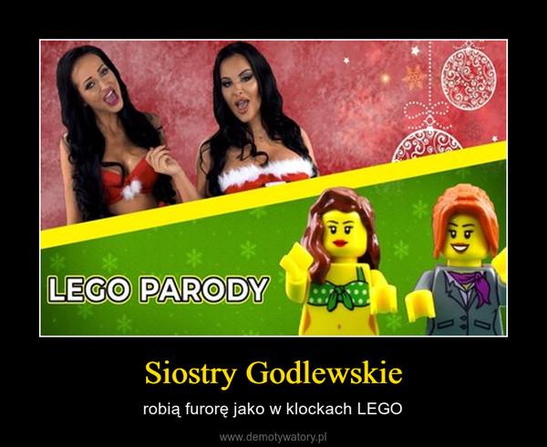 Siostry Godlewskie – robią furorę jako w klockach LEGO