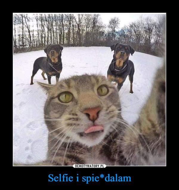 Selfie i spie*dalam –