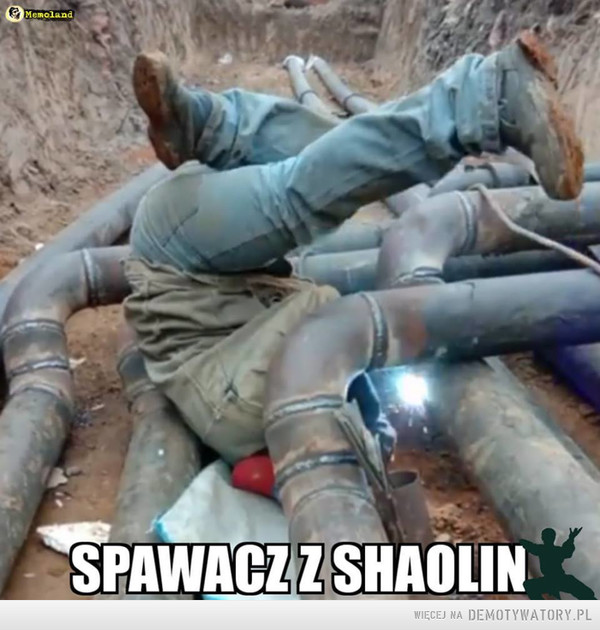 Spawacz z Shaolin –