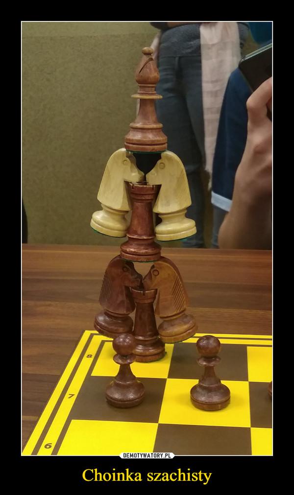 Choinka szachisty –