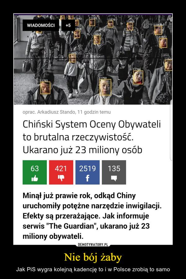 Nie bój żaby – Jak PiS wygra kolejną kadencję to i w Polsce zrobią to samo