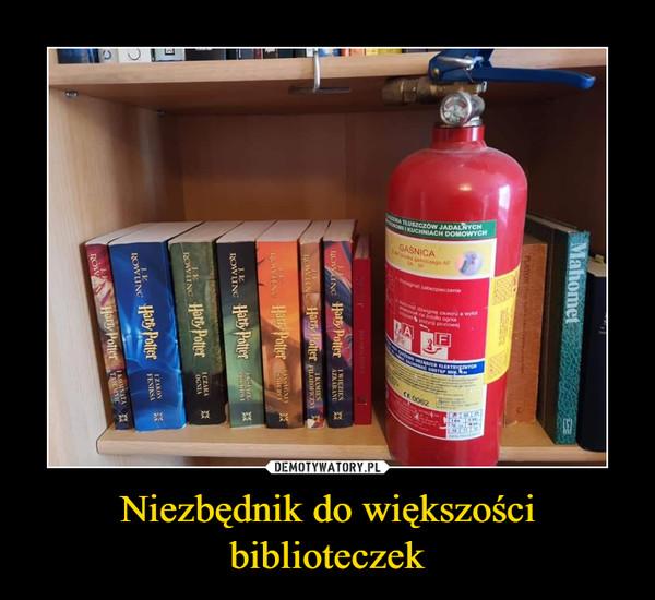 Niezbędnik do większości biblioteczek –