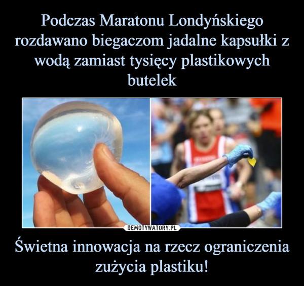 Świetna innowacja na rzecz ograniczenia zużycia plastiku! –