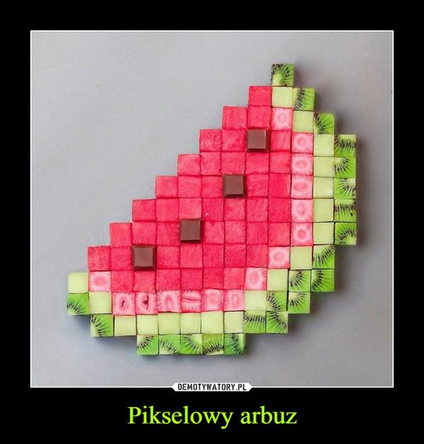 Pikselowy arbuz –