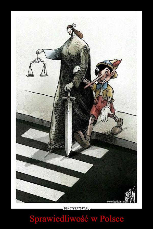 Sprawiedliwość w Polsce –