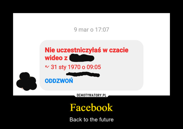 Facebook – Back to the future