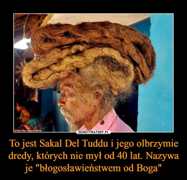 """To jest Sakal Del Tuddu i jego olbrzymie dredy, których nie mył od 40 lat. Nazywa je """"błogosławieństwem od Boga"""" –"""