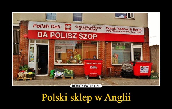 Polski sklep w Anglii –  Polich Dell Da Polisz Szop