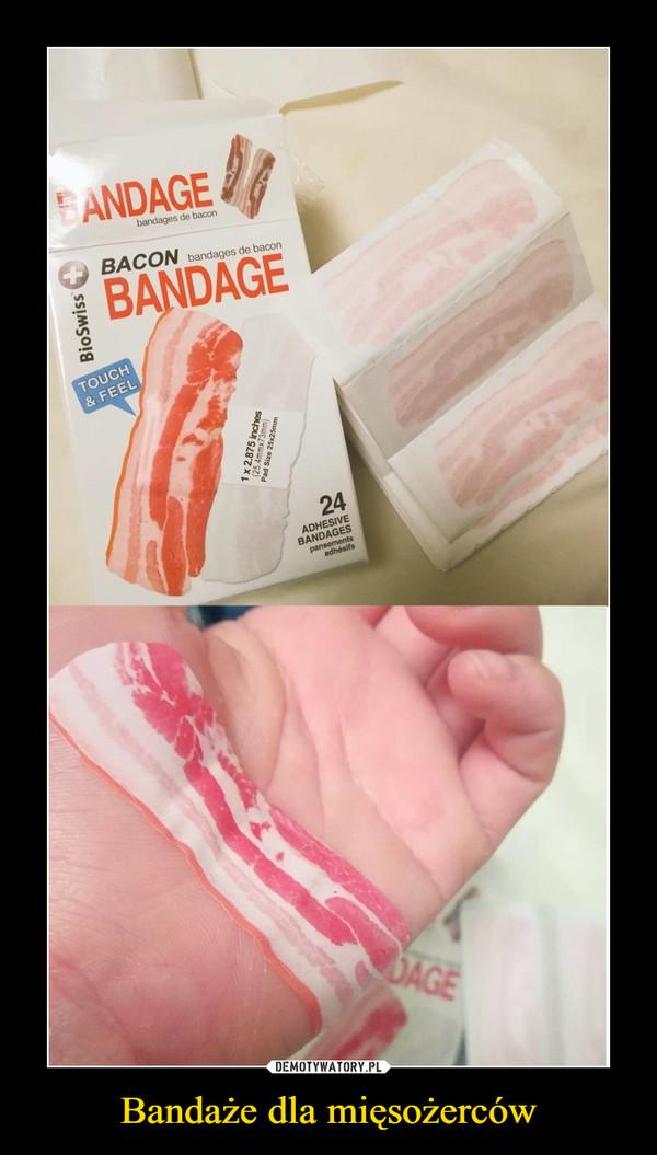 Bandaże dla mięsożerców –