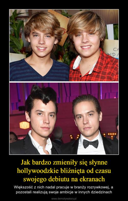 Jak bardzo zmieniły się słynne hollywoodzkie bliźnięta od czasu swojego debiutu na ekranach