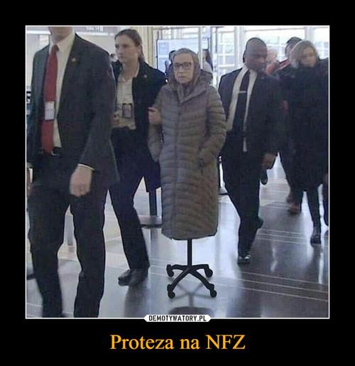 Proteza na NFZ