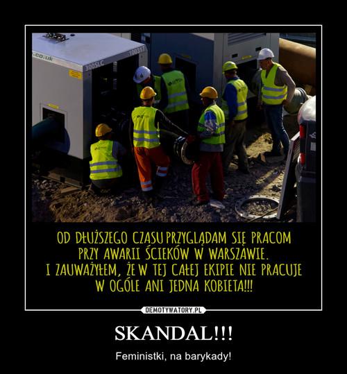 SKANDAL!!!