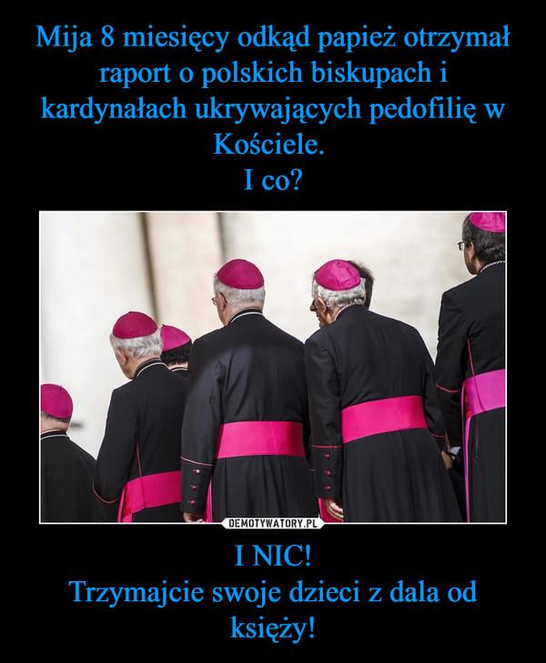 I NIC!Trzymajcie swoje dzieci z dala od księży! –