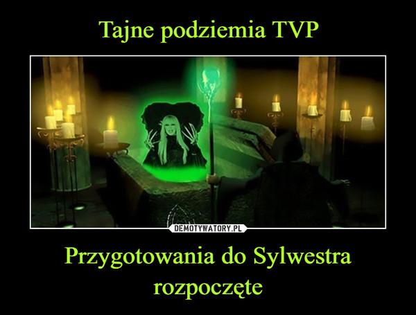 Przygotowania do Sylwestra rozpoczęte –