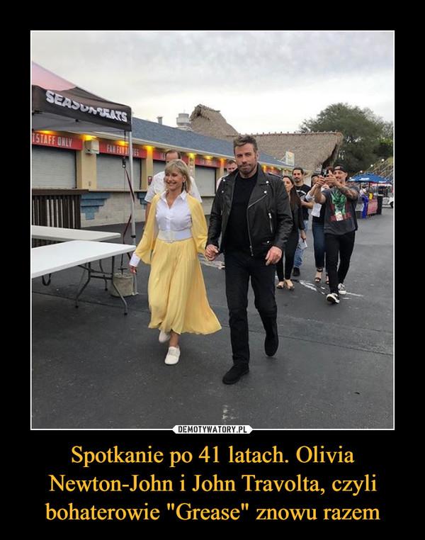 """Spotkanie po 41 latach. Olivia Newton-John i John Travolta, czyli bohaterowie """"Grease"""" znowu razem –"""