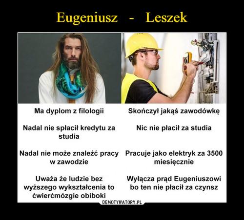 Eugeniusz   -   Leszek
