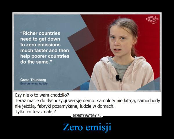 Zero emisji –