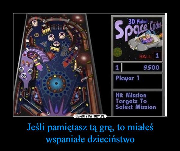 Jeśli pamiętasz tą grę, to miałeś wspaniałe dzieciństwo –