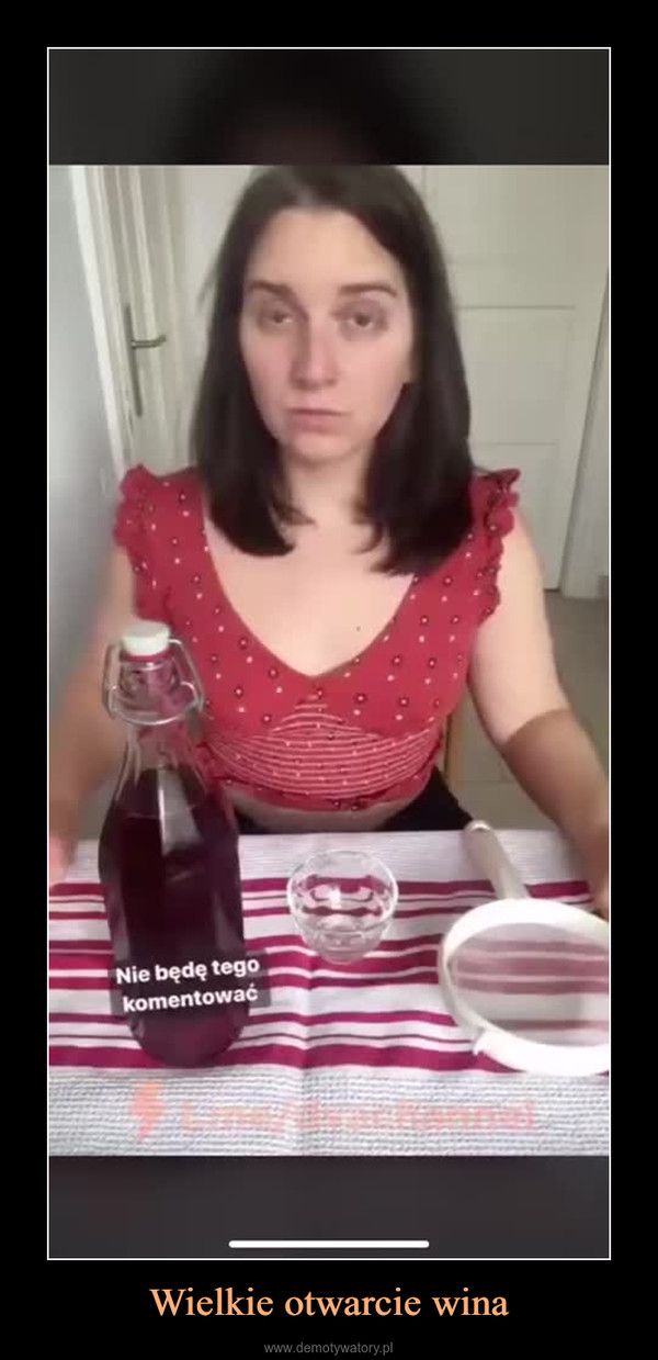 Wielkie otwarcie wina –