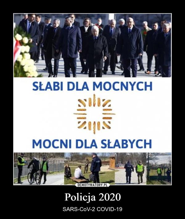Policja 2020 – SARS-CoV-2 COVID-19