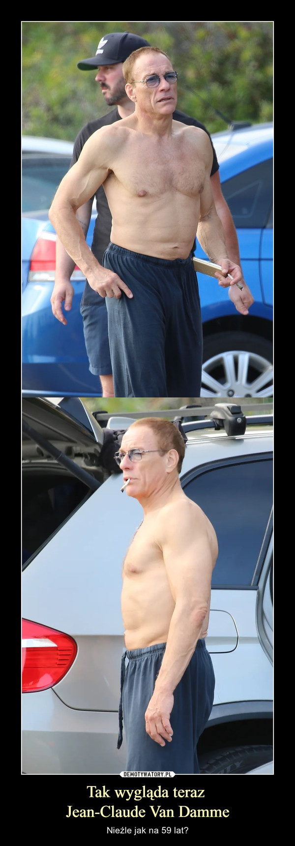 Tak wygląda teraz Jean-Claude Van Damme – Nieźle jak na 59 lat?