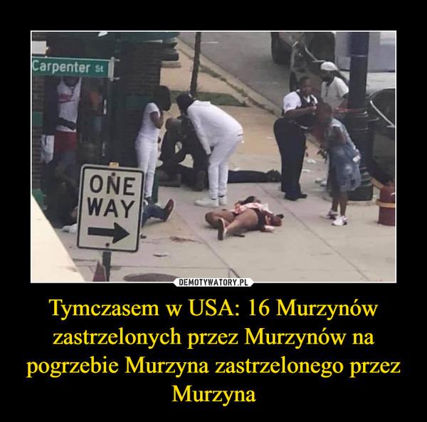 Tymczasem w USA: 16 Murzynów zastrzelonych przez Murzynów na pogrzebie Murzyna zastrzelonego przez Murzyna –