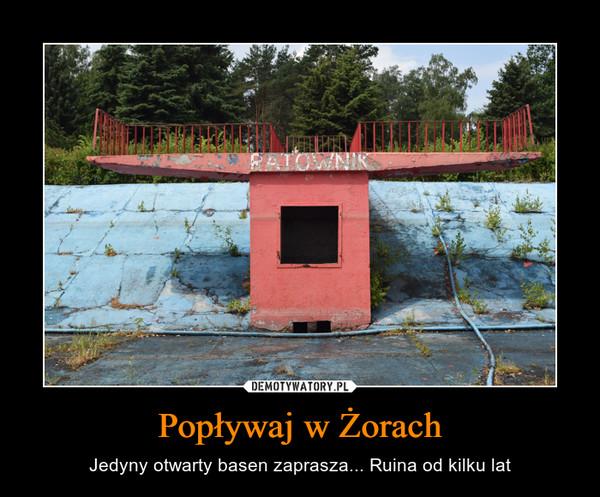 Popływaj w Żorach – Jedyny otwarty basen zaprasza... Ruina od kilku lat