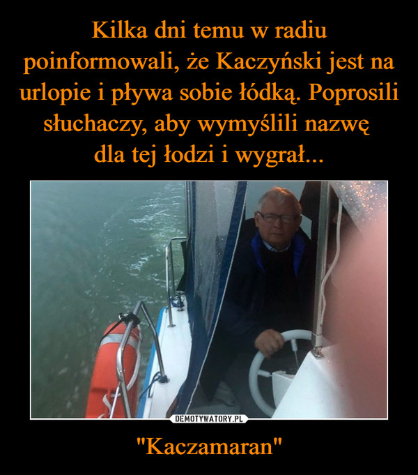 """Kaczamaran"" –"