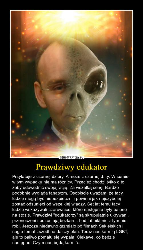 Prawdziwy edukator
