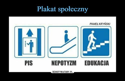 Plakat społeczny