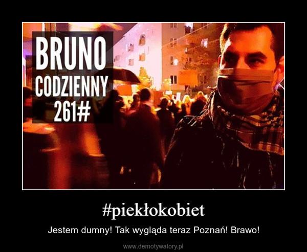 #piekłokobiet – Jestem dumny! Tak wygląda teraz Poznań! Brawo!