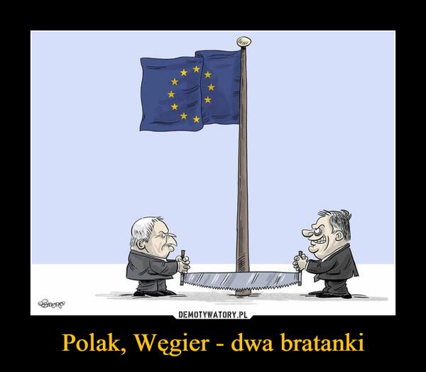 Polak, Węgier - dwa bratanki –